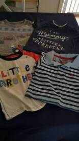 Baby boys t-shirt bundle- 14 items.