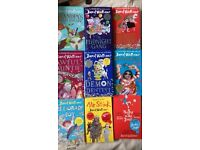 9 x david walliams books, 6 x hardback, 3 x paperback, all in excellent condition