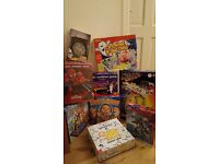 Toys - kids toy/board game bundle (most new)