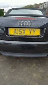 Alex private number plate