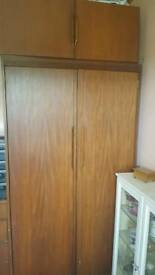 GRANGE Double Wardrobe and Chest of Drawers