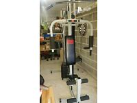 Pro Power 3 Station Home Multi Gym 100kg