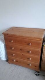 Hardwood Medium Chest of Drawers