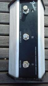 Fender Amplifier Footswitch