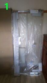 Brand new (TITAN MANHATTAN) showers - 2x (200cm x 83cm) (Brand new)