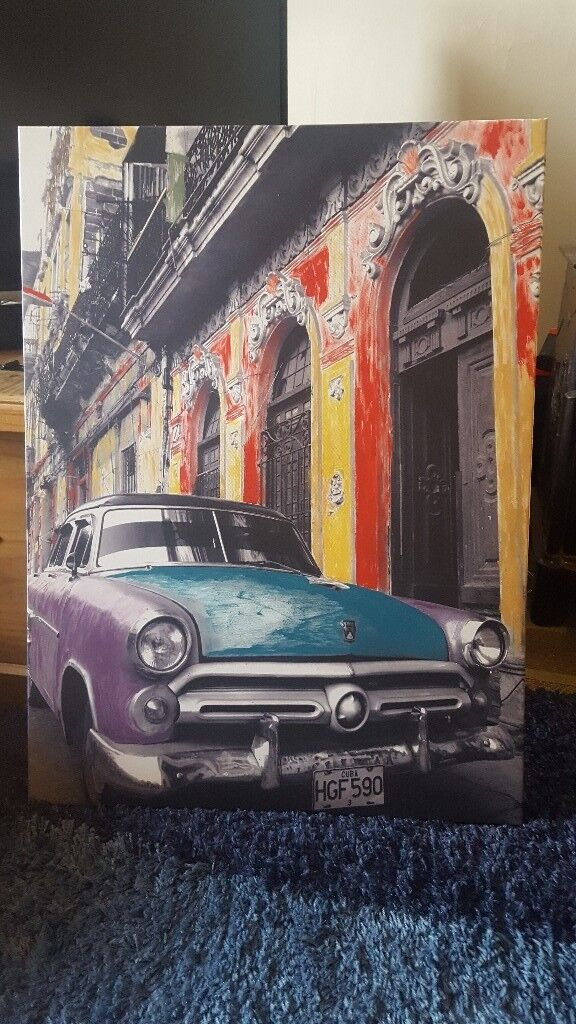 Canvas picture, large..