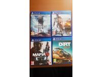 Playstation4 games for sale