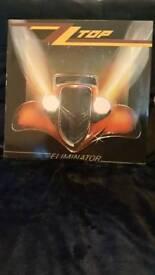 ZZ Top Eliminator LP Vinyl - Original Release