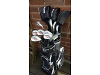 Ram Concept II Golf Clubs, full set with bag