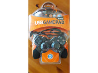 ACME GA02 Gamepad, Macro function, Analog/Digital Modes, 2x 360° mini-joysticks