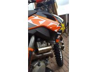 KTM SXF 350 COMPLETE REBUILD COSTING OVER 3K 0 HOURS DONE SINCE ALL WORK
