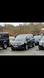Vauxhall zafira cdti sri 120 2007