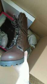 Ladies size 8/9 boots and trainers (lowered price)