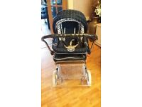 Silver Cross Coach Built Pram SIVER CROSS GOOD CONDITION SEE ALL PICTURES