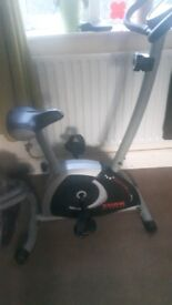 York fitness digital excercise bike