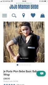 Baby wrap sling carrier - Je Porte Mon Bebe