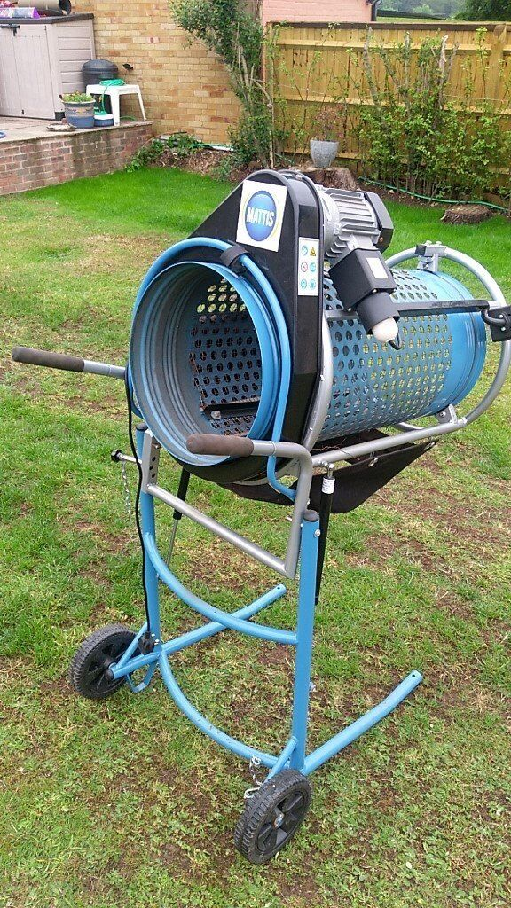 Electric Sieve Ideal For Stone Grit Compost Garden Top Soil Etc Mattis