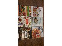 Job Lot (6) Vegan Cook Books Excellent Condition