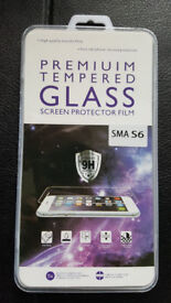 Premium Tempered Glass Screen Protector for S6