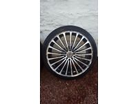 19 kuro alloy wheels 5x100 vw audi seat may swap