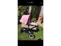 Bugaboo Buffalo all terrain pram & stroller with lots of extras - excellent condition