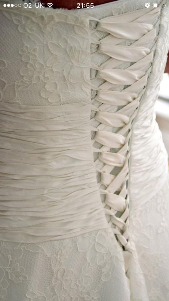 Wedding dress 14 16 18