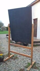Vintage, revolving school blackboard-Highly sought after