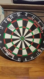 Signed Dartboard