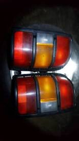 Shogun / pajero tail lights