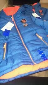2 identical boys jackets BRAND NEW