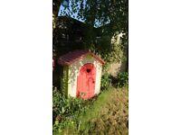 Smoby Jura Lodge Playhouse - Used.