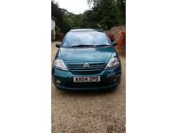 Citreon C3 2004, recent service and 11 months MOT, 142,500 miles, £250 ono, FSH