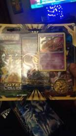 Triple poster Pack with promo card and coin