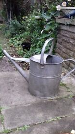 lovely old galvanized watering can 3G