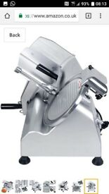 Hopopular Meat Slicer Electric Food Slicer Commercial 240W Machine 10 Inch blade
