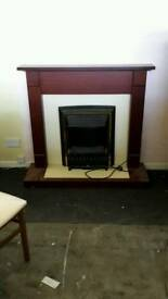 Fire and fire place electric