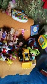 Bundle of toys for kids