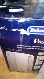 A New Boxed Delonghi PAC AN112 Pinguino Silent Portable Air Conditioner/Dehumidifier Unit