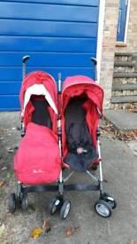 Silver cross pop duo. Double stroller