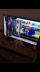 Broken screen Samsung smart tv
