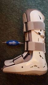 Orthopedic boot Aircast Foam Pneumatic