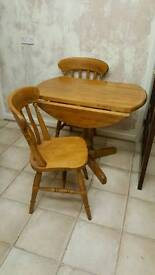 Table ans chairs