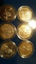 rare 50p coins beatrix potter coins and more