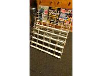 magazine/book/records rack