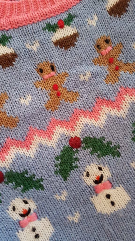 Next Christmas Jumper Knitted age 1.5 - 2years
