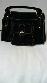 Leather Handbag from Next Black Soft Leather