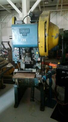 35 Ton Bliss C-35 C-frame Press