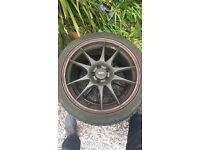 "5x100 18"" wheels"