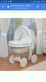 Waldin wicker crib