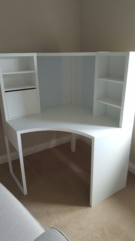 Ikea Micke Corner Desk White In Great Condition